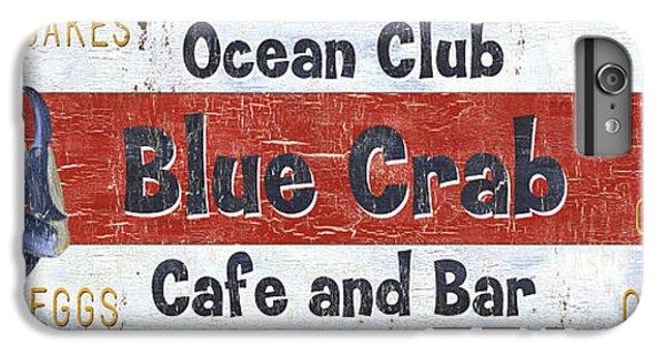 Ocean Club Cafe IPhone 6s Plus Case by Debbie DeWitt