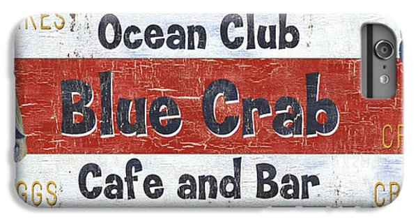 Ocean Club Cafe IPhone 6s Plus Case by Debbie DeWitt