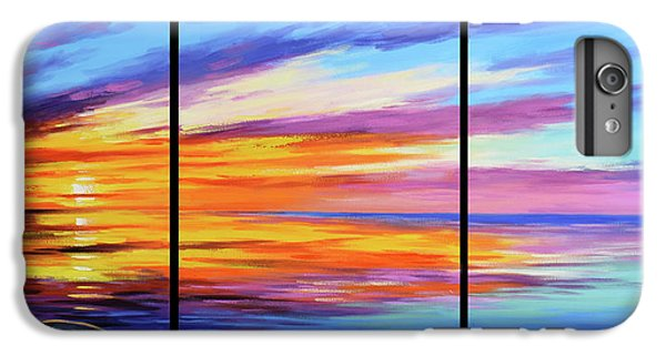 Ocean Sunset iPhone 6s Plus Case - Ocean Sunset by Graham Gercken