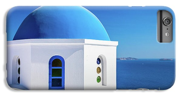 Greece iPhone 6s Plus Case - Oia Chapel by Inge Johnsson