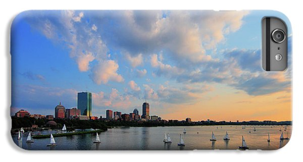 Hancock Building iPhone 6s Plus Case - On The River by Rick Berk