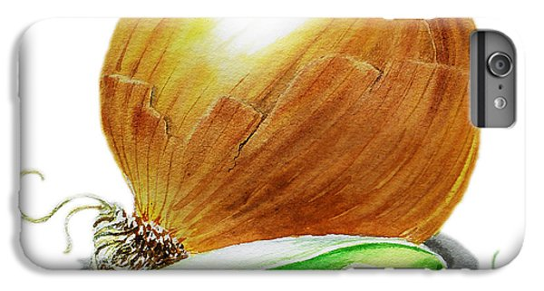 Onion And Peas IPhone 6s Plus Case by Irina Sztukowski