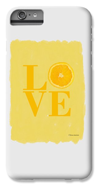Grapefruit iPhone 6s Plus Case - Orange by Mark Rogan