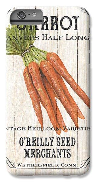 Artichoke iPhone 6s Plus Case - Organic Seed Packet 2 by Debbie DeWitt