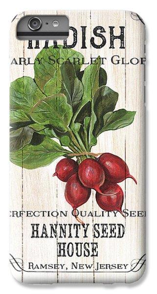 Artichoke iPhone 6s Plus Case - Organic Seed Packet 3 by Debbie DeWitt