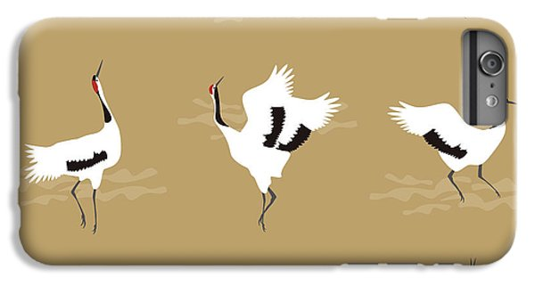 Oriental Cranes IPhone 6s Plus Case