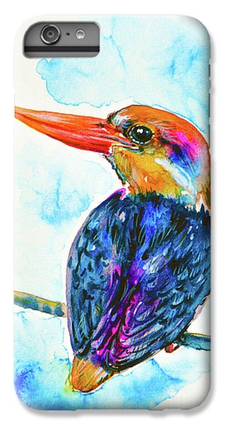 Oriental Dwarf Kingfisher IPhone 6s Plus Case by Zaira Dzhaubaeva