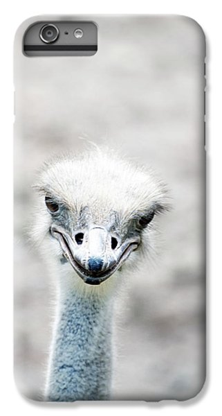 Ostrich IPhone 6s Plus Case by Lauren Mancke