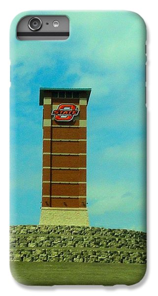 Oklahoma University iPhone 6s Plus Case - Oklahoma State University Gateway To Osu Tulsa Campus by Janette Boyd