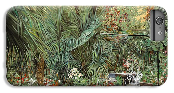 Kiwi iPhone 6s Plus Case - Our Little Garden by Guido Borelli