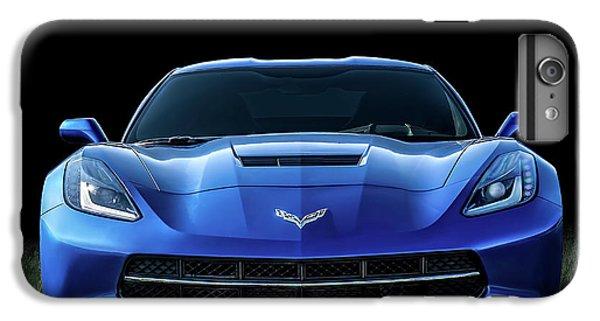 Car iPhone 6s Plus Case - Blue 2013 Corvette by Douglas Pittman