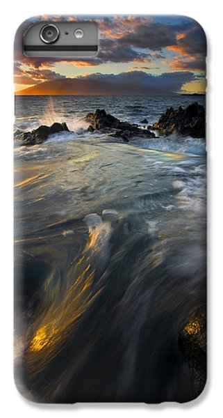Ocean Sunset iPhone 6s Plus Case - Overflow by Mike  Dawson