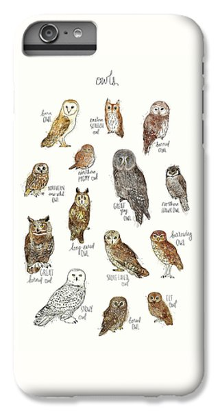 Owls IPhone 6s Plus Case by Amy Hamilton