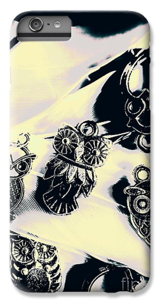 Pendant iPhone 6s Plus Case - Owls From Blue Yonder by Jorgo Photography - Wall Art Gallery