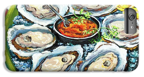 Food And Beverage iPhone 6s Plus Case - Oysters On The Half Shell by Dianne Parks