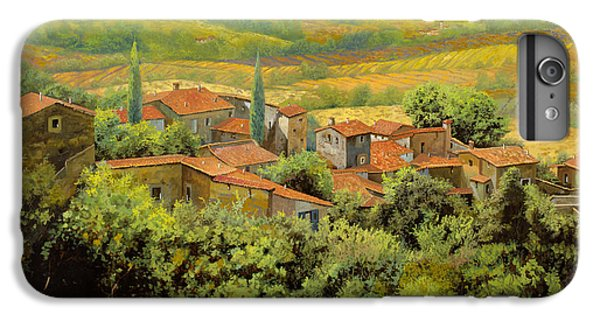 Wood iPhone 6s Plus Case - Paesaggio Toscano by Guido Borelli