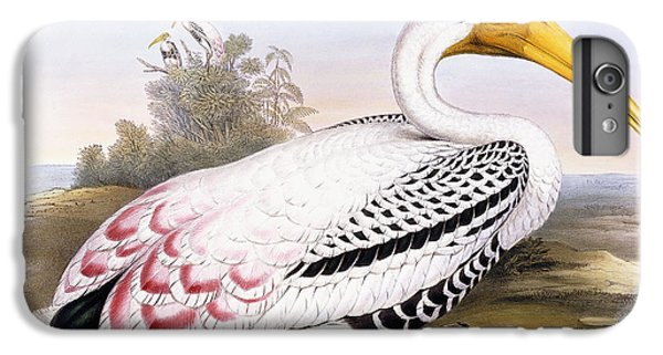 Painted Stork IPhone 6s Plus Case