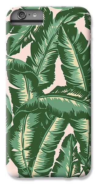 Palm Print IPhone 6s Plus Case