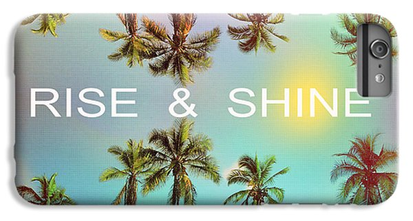 Venice Beach iPhone 6s Plus Case - Palm Trees by Mark Ashkenazi