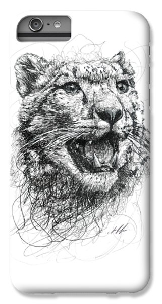 Leopard IPhone 6s Plus Case by Michael Volpicelli