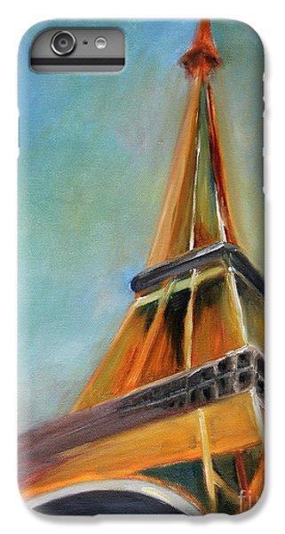 Eiffel Tower iPhone 6s Plus Case - Paris by Jutta Maria Pusl