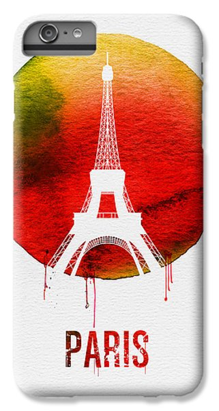 Paris Landmark Red IPhone 6s Plus Case