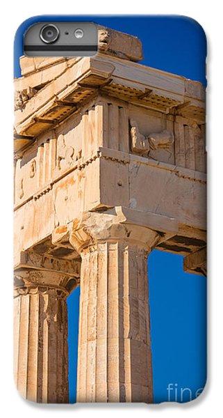 Greece iPhone 6s Plus Case - Parthenon Columns by Inge Johnsson