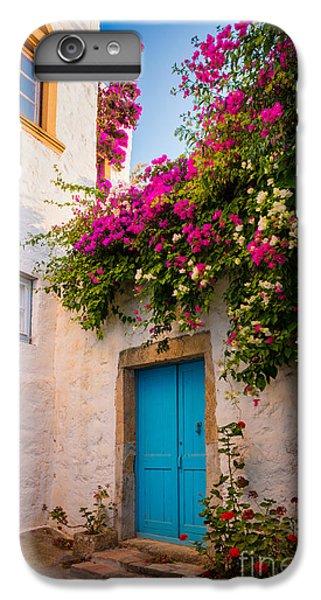 Greece iPhone 6s Plus Case - Patmos Bougainvillea by Inge Johnsson