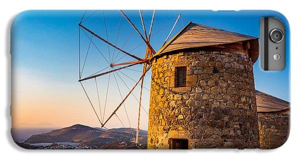 Greece iPhone 6s Plus Case - Patmos Windmills by Inge Johnsson