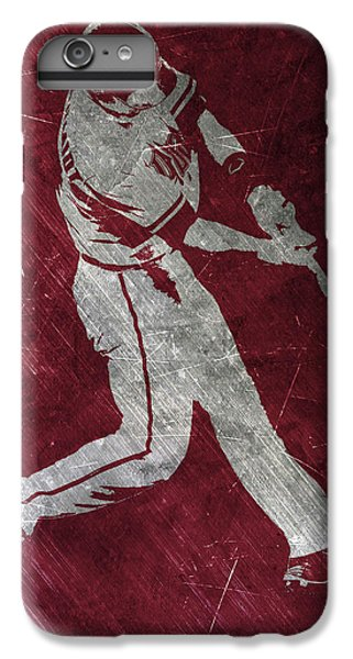 Diamondback iPhone 6s Plus Case - Paul Goldschmidt Arizona Diamondbacks Art by Joe Hamilton