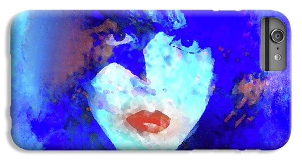 Def Leppard iPhone 6s Plus Case - Paul Stanley Of Kiss - Portrait by Enki Art