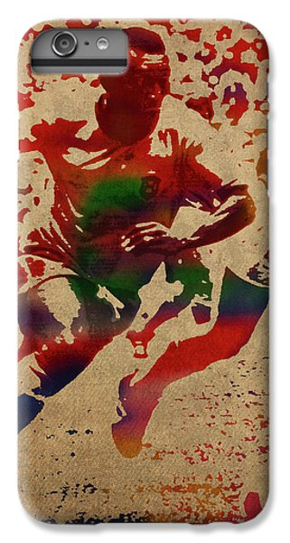 Pele Watercolor Portrait IPhone 6s Plus Case
