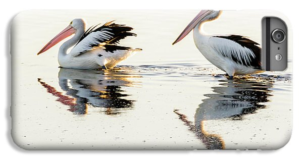 Pelicans At Dusk IPhone 6s Plus Case by Werner Padarin