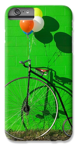 Penny Farthing Bike IPhone 6s Plus Case by Garry Gay