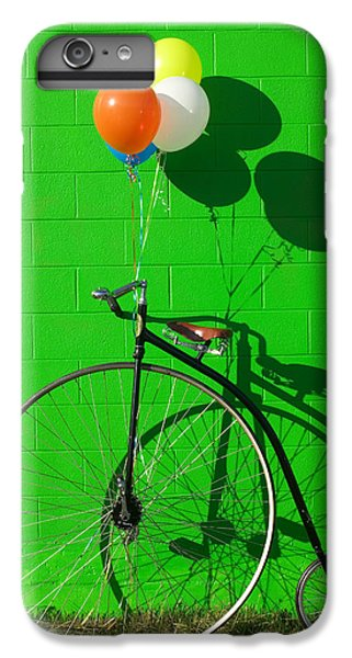 Bicycle iPhone 6s Plus Case - Penny Farthing Bike by Garry Gay