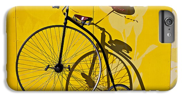 Bicycle iPhone 6s Plus Case - Penny Farthing Love by Garry Gay