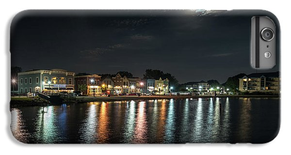Pewaukee At Night IPhone 6s Plus Case by Randy Scherkenbach