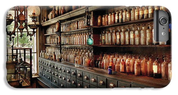 Wizard iPhone 6s Plus Case - Pharmacy - So Many Drawers And Bottles by Mike Savad