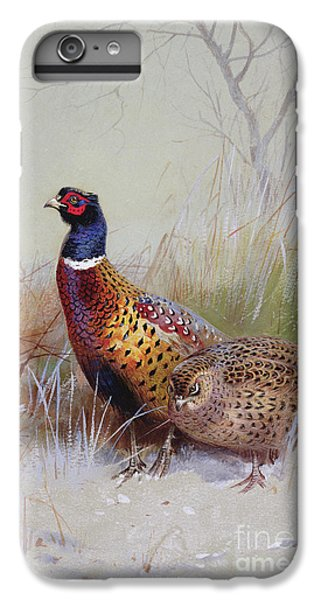 Pheasants In The Snow IPhone 6s Plus Case