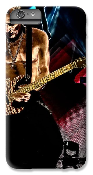 Def Leppard iPhone 6s Plus Case - Phil Collen Of Def Leppard 3 by David Patterson