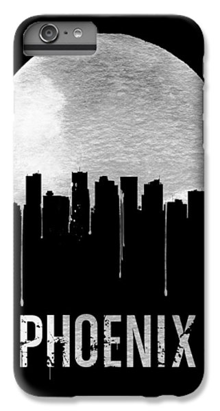 Phoenix Skyline Black IPhone 6s Plus Case by Naxart Studio