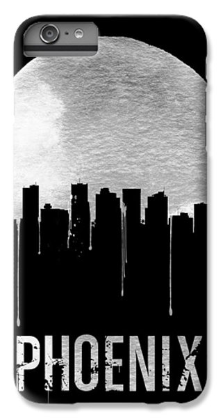 Phoenix Skyline Black IPhone 6s Plus Case by Naxart Studio