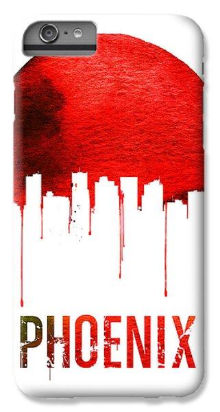 Phoenix Skyline Red IPhone 6s Plus Case by Naxart Studio