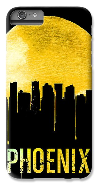 Phoenix Skyline Yellow IPhone 6s Plus Case by Naxart Studio