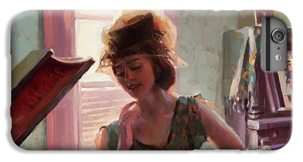 Ostrich iPhone 6s Plus Case - Phonograph Days by Steve Henderson