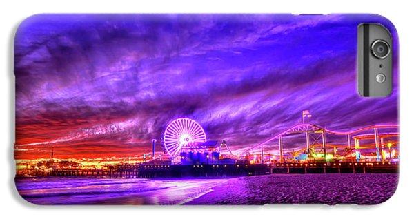 Pier Of Lights IPhone 6s Plus Case by Midori Chan