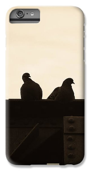 Pigeon iPhone 6s Plus Case - Pigeon And Steel by Bob Orsillo