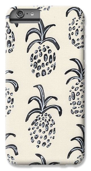 Pineapple Print IPhone 6s Plus Case by Anne Seay