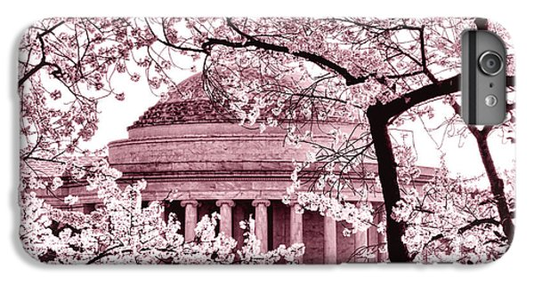 Jefferson Memorial iPhone 6s Plus Case - Pink Cherry Trees At The Jefferson Memorial by Olivier Le Queinec