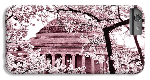 Pink Cherry Trees At The Jefferson Memorial IPhone 6s Plus Case by Olivier Le Queinec